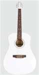 41 Inch Acoustic Guitar Rosewood White