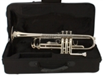 Trumpet Nickel Plated Silver with Mouthpiece