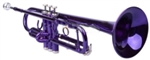 Bb Trumpet Violet With Mouthpiece