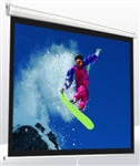 "120"" Ceiling Mounted Retractable Manual Projection Screen"