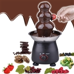 35W 3 Tier Tower Chocolate Fondue Fountain Party Wedding Catering Home Maker