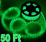 50' Green Led Outdoor/Indoor Decorative Rope Light