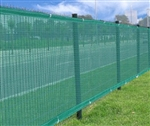 High Quality Residential Privacy Screen Fence Polyethylene 6x50 in Green