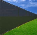 High Quality Black Residential Privacy Screen Fence Polyethylene 6x50 in