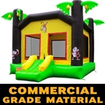 Commercial Grade Tropical Jungle Bounce House Bouncy House