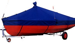 Comet Duo Dinghy Overboom Cover - Breathable material