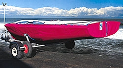 Comet Trio Dinghy Undercover - Polyester