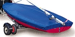 Laser Dinghy Trailing  Cover - Cotton/polyester