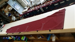 Burgundy Acrylic Mainsail cover
