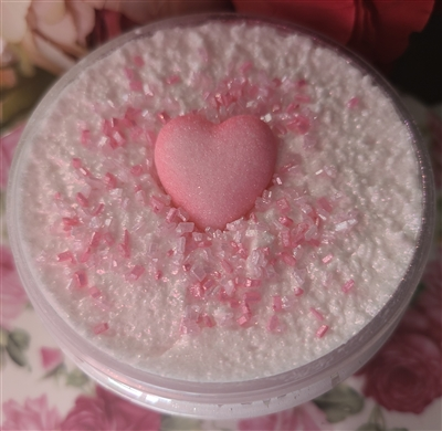 4 Ounce Guava Berry Gelato Aloe Butter Sugar Scrub