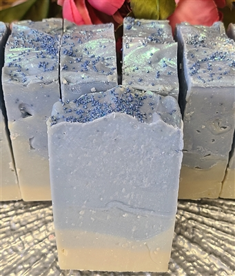 Blueberry Thyme Almond Milk Cold Process Soap