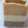 Sanded Chamomile Almond Milk Cold Process Soap