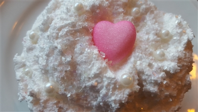 Coconut Crystal Cake Coconut Oil Sugar Scrub