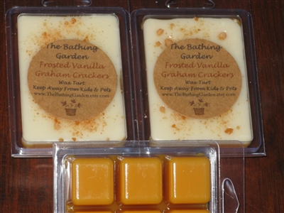 Frosted Vanilla Graham Crackers Wax Tart