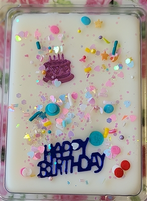 Ice Cream Birthday Cake Wax Tart