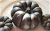 Charred Jack-O-Lantern Shaped Tart Large
