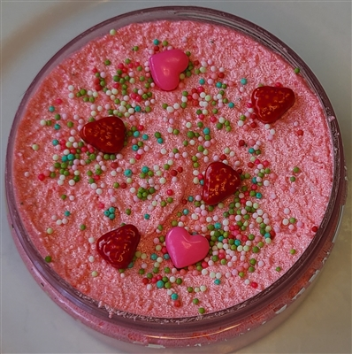 Parisian Strawberry Fields Shea Butter Sugar Scrub