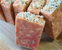 Pink Peppermint & Charcoal Cold Process Soap
