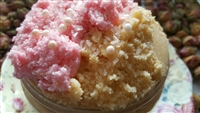 Pink Sugar Pie Crust Sugar Scrub