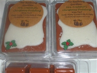 Mrs. Cratchit's Christmas Pudding Wax Tart
