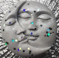 To the Moon & Stars Shaped Wax Tart