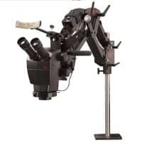 GRS Acrobat Versa Stand and Leica A60 Microscope