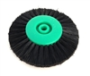 4 Row Super Stiff Green Plastic Center Brush 80mm