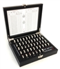 Master True-Size Ring Sizing Set with 1/4, 1/2, and 3/4 Sizes