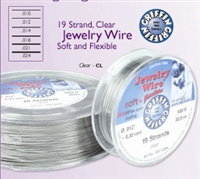 JEWELLERY WIRE 0.18, 19 strands 30 feet  Stainless Steel