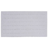 Foam Pad Horizontal Royal Grey 72 Rings 14 x 7.5 Inches