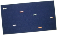 Foam Pad Horizontal Royal Blue 72 Rings 14 x 7.5 Inches