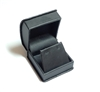 Black Leatherette Earring Box