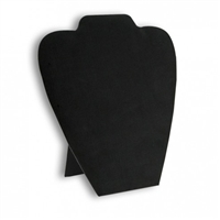 Necklace Easel Black Leatherette 11 x 9 Inch