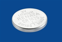 CR1025 Renata Lithium Battery