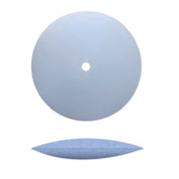 7/8 Fine Blue Knife Edge Rubberized Polishing Wheel