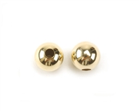 Bead Round Yellow Gold Filled 6mm Bright