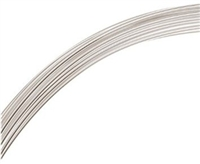Sterling Silver Round Wire (1 Foot)