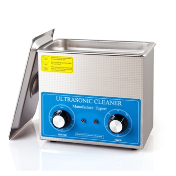 3 Qt SS Ultrasonic Cleaner with Heater