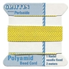 Beadcord Yellow Nylon