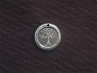 Continue To Grow Antique Silver Colored Wax Seal