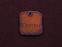 Rusted Iron Destiny Inspiration Pendant