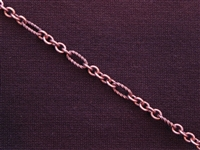 Antique Copper Colored Chain Style #49 Priced By The Foot
