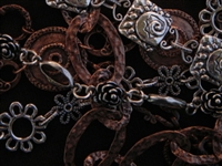 10 Handmade Antique Copper Colored Or Silver Colored Chain (Mix & Match Any Styles) For $75.00