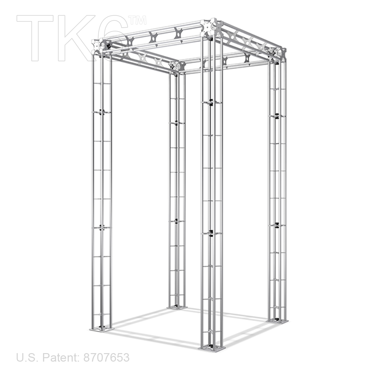 BOEING - 5FT X 10FT BOX TRUSS BOOTH<BR>[FRAME ONLY]