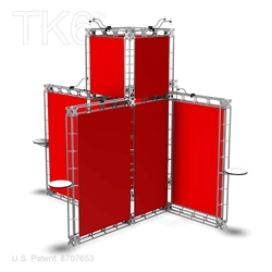 Bonn - 20 X 20 Ft Box Truss Display Booth