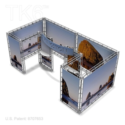 Kingston 10 X 20 Ft Box Truss Display Booth