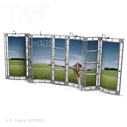 Merced - 10 X 20 Ft Box Truss Trade Show Display Booth