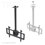 MONITOR MOUNT WITH 36IN SWING ARM, OVER 30 INCHES, TK6