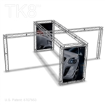 Liam - 20 Ft X 20 Ft TK8 Aluminum Box Truss Booth
