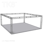 William - 20 Ft X 20 Ft TK8 Aluminum Box Truss Booth